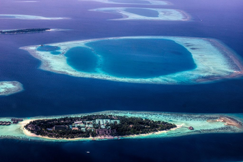 Море на Мальдивах